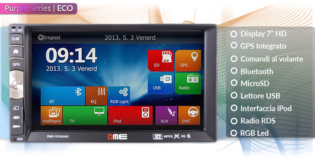 autoradio 2 din touch screen