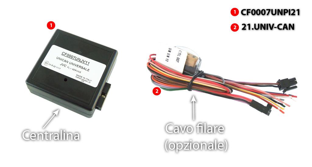Schema Collegamento Autoradio Pioneer : Cf0007unpi21 interfacce cun bus dme autoradiopc interfaccia