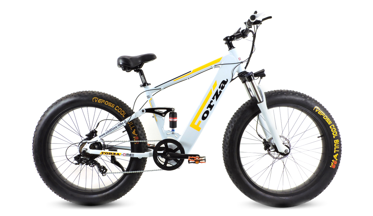 fat bike 26 elettrica