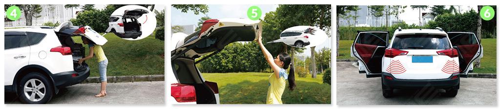 apri baule elettrico per Range Rover Evoque