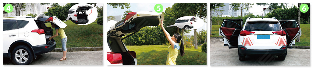 apri baule elettrico per Toyota RAV 4