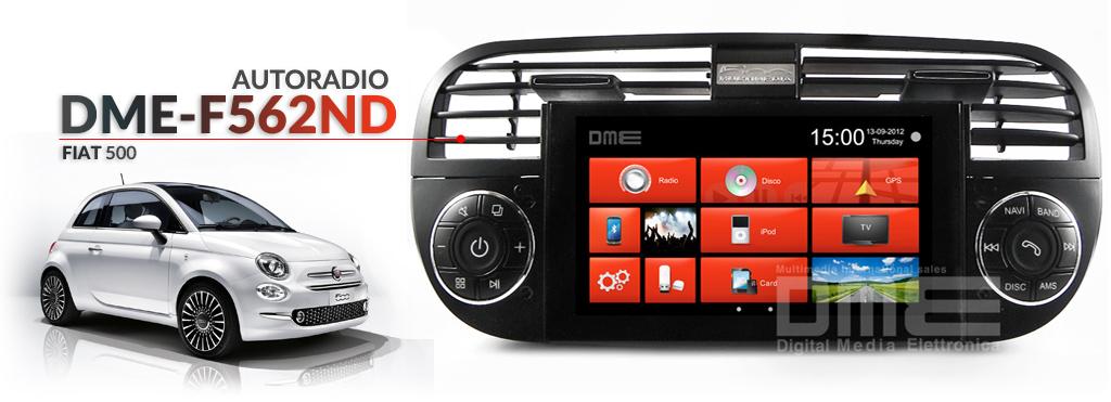 autoradio per Fiat 500