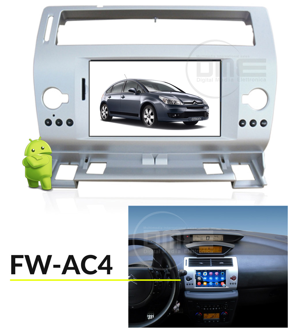 autoradio multimediale per CITROEN C4