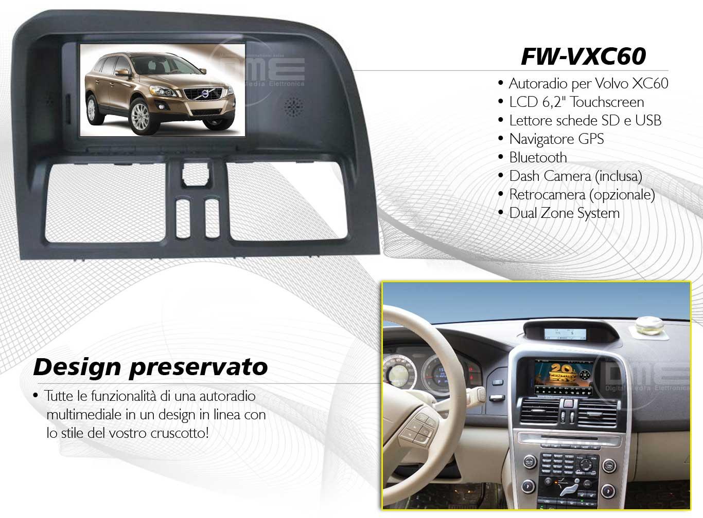 autoradio multimediale per Volvo XC60
