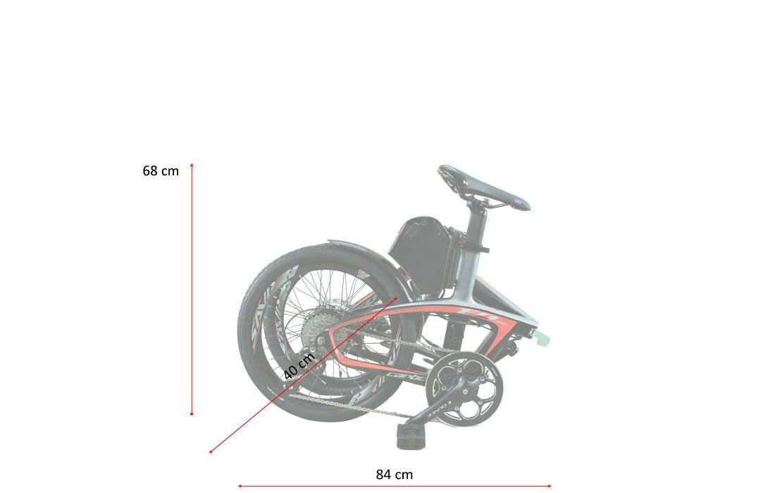 bicicletta a pedalata assistita pieghevole