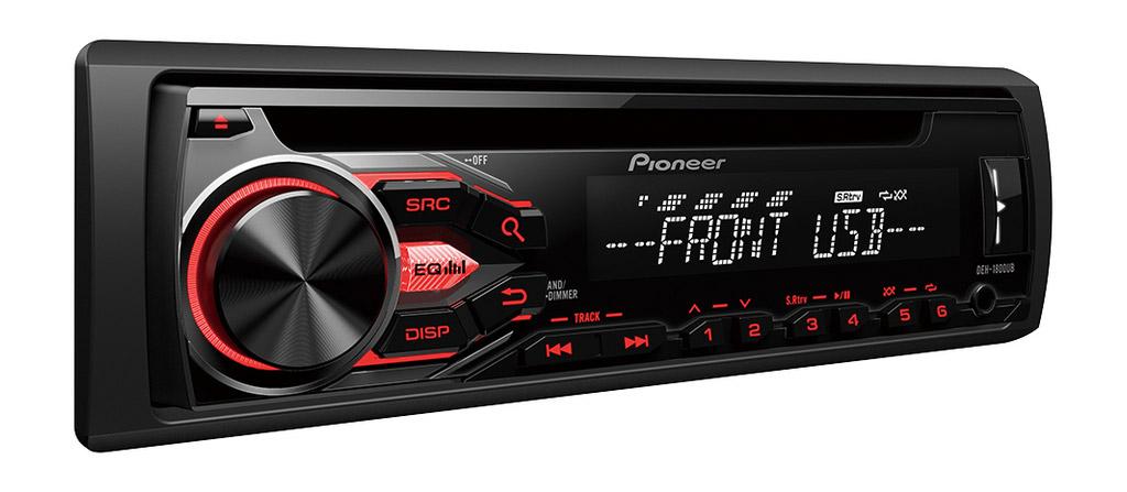 PIONEER DEH-1800UB MP3