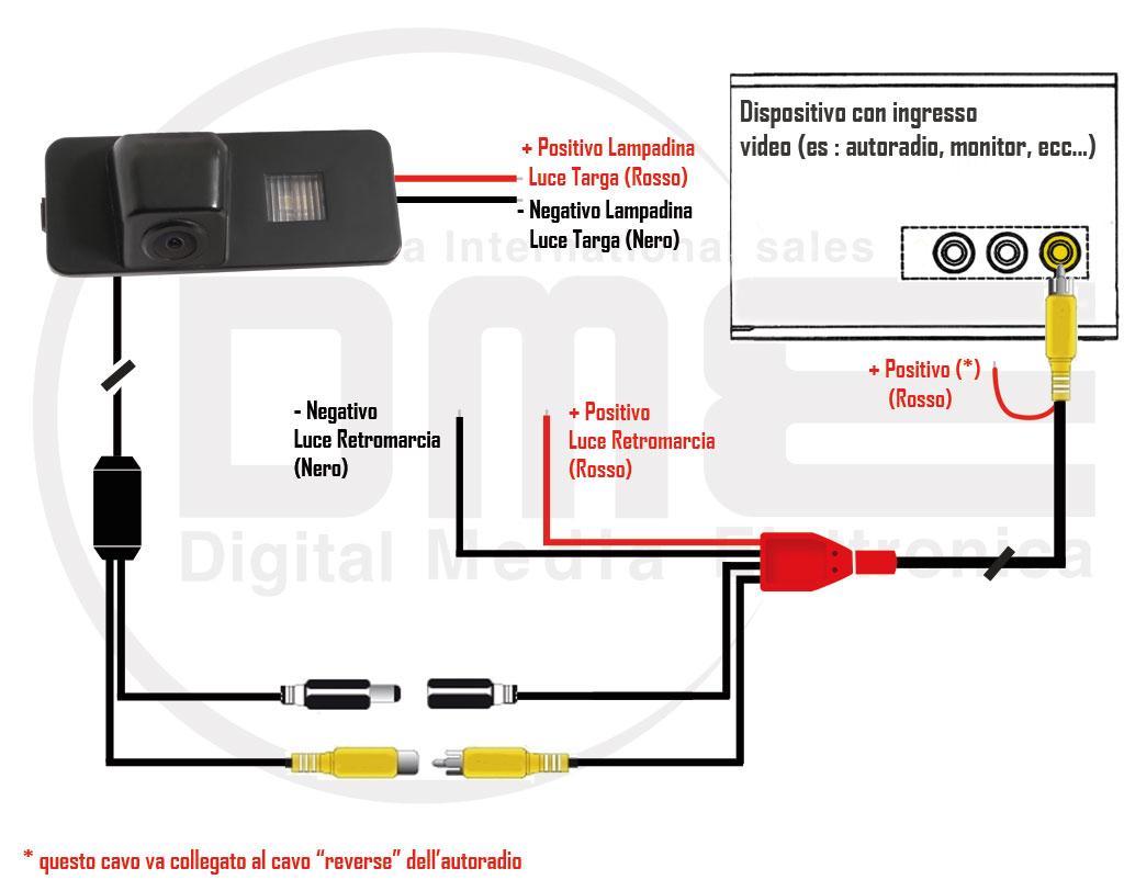 Schema Elettrico Ford Fusion : Telecamera retrocamera parcheggio speciale peugeot