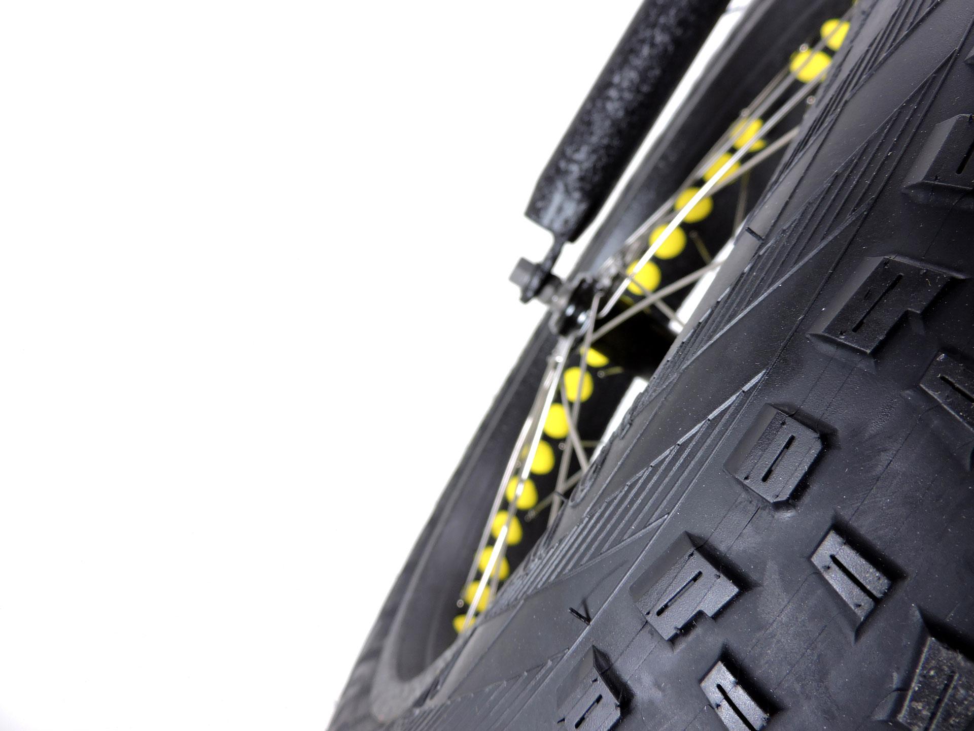 fat-bike elettrica misure chiuse