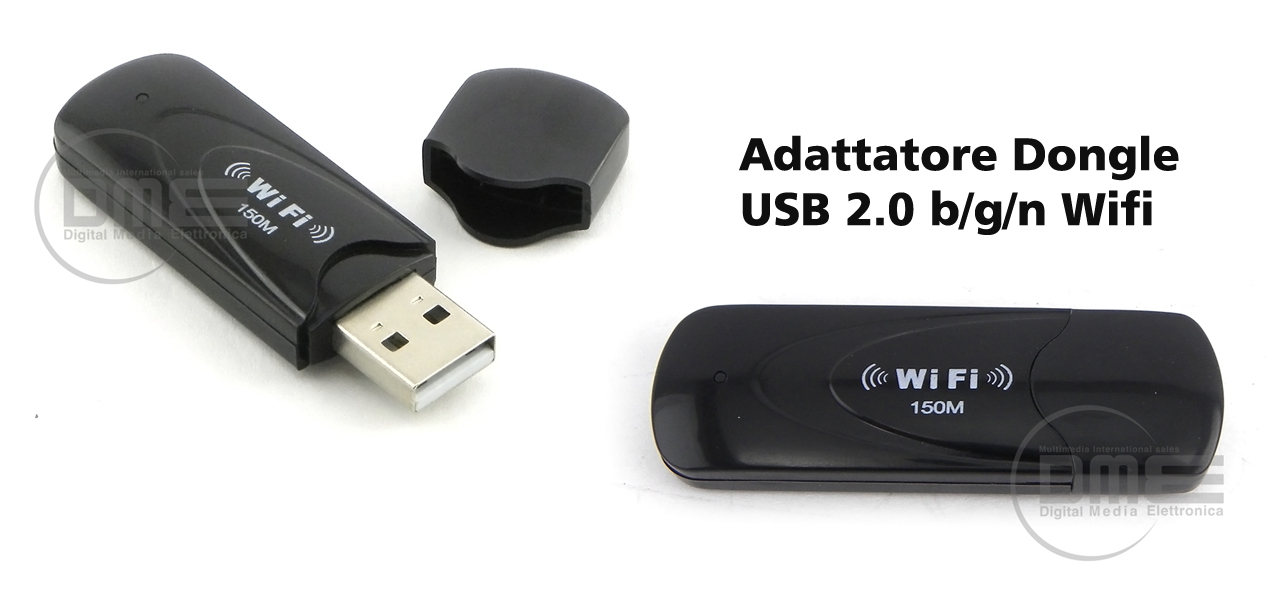 Adattatore Wi-Fi Usb Dongle 802.11