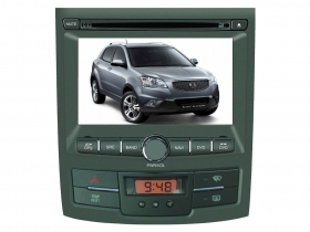 "Ssangyong Korando Action Autoradio 7"" HD Touch DVD GPS VCDC USB SD BT WIFI 3G"