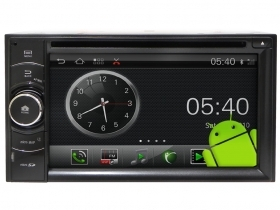 "Autoradio Android 2 Din 6.2"" Full HD Touch Navi GPS Wi-Fi Bluetooth DVD USB SD"