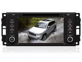 "Chrysler Dodge Jeep Autoradio 6,2"" HD Touch DVD GPS VCDC USB SD BT WIFI 3G Video"