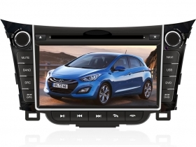 "Autoradio Hyundai i30 2012 2013 7"" HD Touch DVD GPS VCDC USB SD BT WIFI 3G S100"