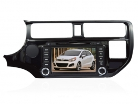 "Autoradio Kia RIO dal 2012 7"" Full HD Touch DVD GPS VCDC USB SD BT WIFI 3G S100"