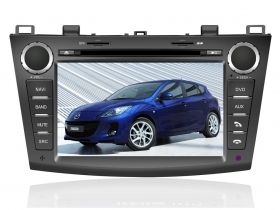 "Autoradio Mazda 3 dal 2010-12  7"" Full HD Touch DVD GPS VCDC USB SD BT S60/ S100"