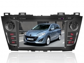 "Autoradio Mazda 5 2010 2011 8"" Full HD Touch DVD GPS VCDC 1080p USB SD BT WIFI"
