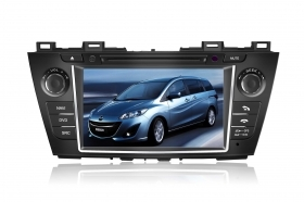 "Autoradio Mazda 5 2010 2011 8"" Full HD Touchscreen DVD Navi GPS VCDC USB SD BT"