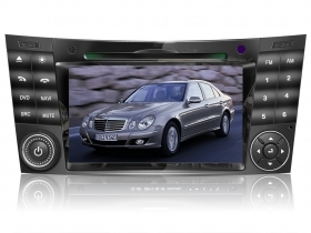 "Mercedes Class E Class G CLS Autoradio 7"" HD Touch DVD GPS VCDC USB SD WIFI 3G"