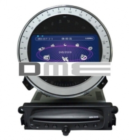 "Mini Cooper R56 BMW Autoradio 7"" HD Touchscreen DVD Navigatore GPS BT USB SD"