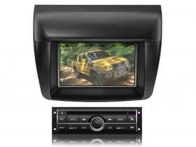 "Mitsubishi L200 no canbus Autoradio 8"" HD Touch DVD GPS USB SD BT WIFI S100"