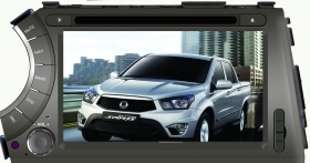 "SsangYong Actyon Kyron Autoradio 7"" Full HD Touch DVD GPS VCDC Video 1080p BT"