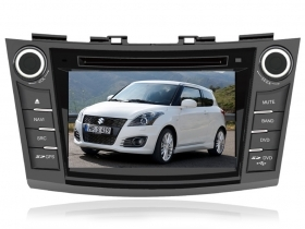 "Autoradio Suzuki Swift dal 2012 7"" HD Touch DVD GPS VCDC USB SD BT WIFI 3G 1080p"