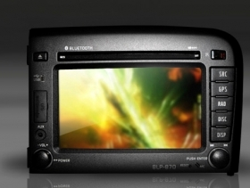 "Volvo S80 1998-2006 Autoradio Navigatore 6,5""  HD DVD Mp3 GPS USB SD DVB-T"