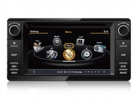 "Mitsubishi Outlander 2012 Autoradio 6,2"" HD Touch DVD GPS VCDC USB SD BT S100"