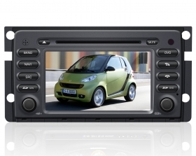 "Autoradio Smart ForTwo 7"" Full HD Touchscreen DVD GPS VCDC USB SD BT"