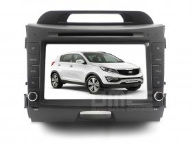 "Autoradio Kia Sportage CANBUS 8"" Touch DVD GPS VCDC Video1080p USB SD BT Wifi"