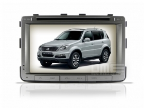 "Autoradio SsangYong Rexton 7"" Full HD Touch DVD GPS VCDC Video 1080p BT"