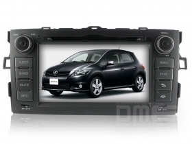 "Autoradio Toyota Auris 2007 al 2010 7"" HD Touch DVD GPS VCDC USB SD BT WIFI 3G"