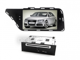 "Audi A4 2007-2012 A5 Autoradio 7"" Full HD DVD GPS VCDC USB SD BT WIFI 3G 1080p"