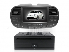 "Autoradio Fiat 500 Cinquecento 6.2"" Mp3 DVD Xvid BT USB Navi GPS WIFI NET"