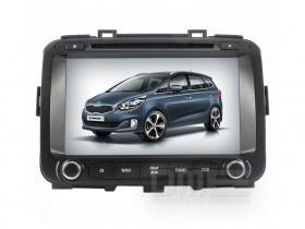 "Autoradio Kia Carens da 2013 8"" HD Touch DVD GPS VCDC Video 1080p USB SD BT WIFI"