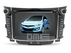 Autoradio Hyundai i30 7'' HD Touchscreen DVD MP3 GPS Navigatore USB SD WIFI NET