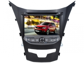 Autoradio SsangYong Korando da 2014 7'' HD Touch DVD GPS Video 1080p USB BT WIFI