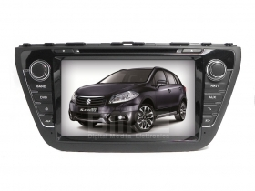 "Autoradio Suzuki S-Cross 8"" HD Touchscreen DVD GPS VCDC USB SD BT WIFI 3G S100"