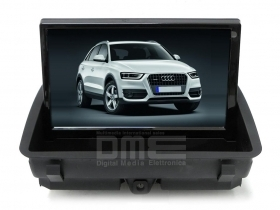 "Autoradio Audi Q3 8"" Full HD Touch DVD GPS VCDC USB SD BT WIFI 3G Video 1080p"