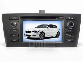 "BMW serie 1 E8X 2004-2012 Autoradio 6.2"" HD Touch DVD GPS VCDC USB SD BT WIFI 3G"
