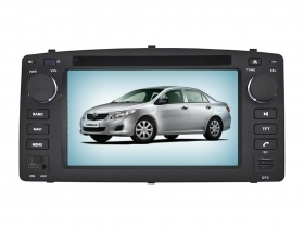 Autoradio Toyota Corolla E120 2003-2006 6.2'' HD Touchscreen DVD GPS USB SD BT