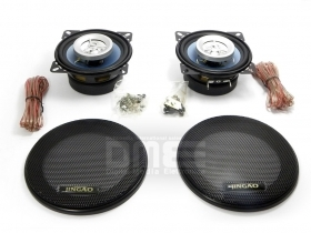 Car Speakers Altoparlanti casse 2-vie 10 cm 4'' 120W 5Oz 4Ohm con griglia Top