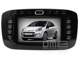 "Autoradio Fiat Punto Evo 6.2"" Touch DVD GPS Navi USB SD Blue and Me"