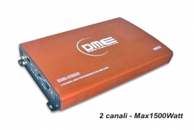 Amplificatore DME 2100JO 1500W 2 canali MOSFET