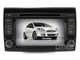 "Autoradio Fiat BRAVO 7"" HD Touch Mp3 DVD DivX BT SD USB Navi GPS WIFI Blu Me NET"