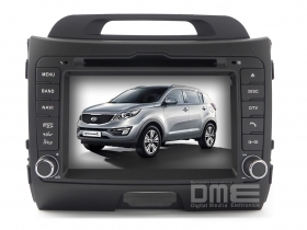 "Autoradio Kia Sportage 7"" HD Touch Mp3 DVD DivX BT SD USB Navi GPS PIP WIFI NET"