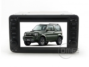 "Suzuki Jimny 2006-15 Autoradio 7"" HD Touch BT DVD MP3 GPS Navigatore USB SD ipod"