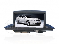Skoda Octavia Autoradio Display 7""