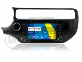 Kia Rio 2014 Android 4.4 Autoradio 8'' HD Touchscreen DVD Navi GPS BT SD iPod