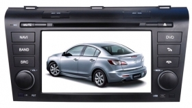 "Autoradio Mazda 3 2004-2009 7"" Full HD Touch DVD GPS VCDC 1080p USB SD BT WIFI"
